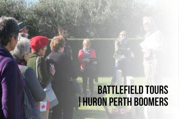 Battlefield Tours - Huron Perth Boomers Article