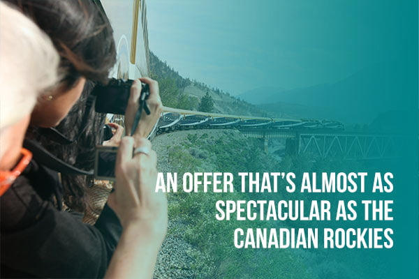 Rocky Mountaineer Offer