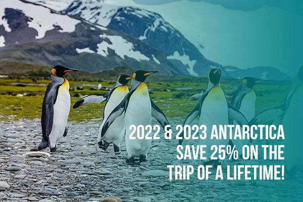 2022 & 2023 Savings to Antarctica