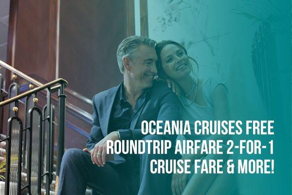 Oceania Cruises 2 for 1 Offer