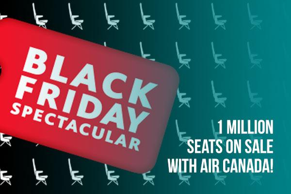 Black Friday Sale - Air Canada