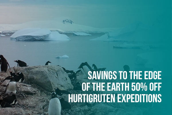 Savings to the Edge of the Earth with Hurtigruten