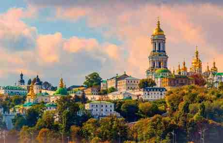 Beautiful Kyiv Skyline