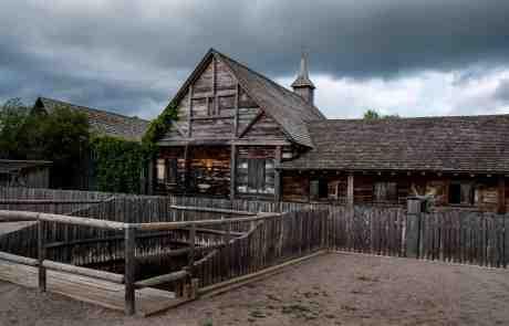 Sainte Marie Among the Hurons - Log Cabin