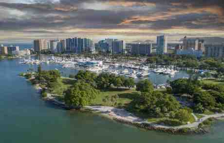Sarasota City Skyline
