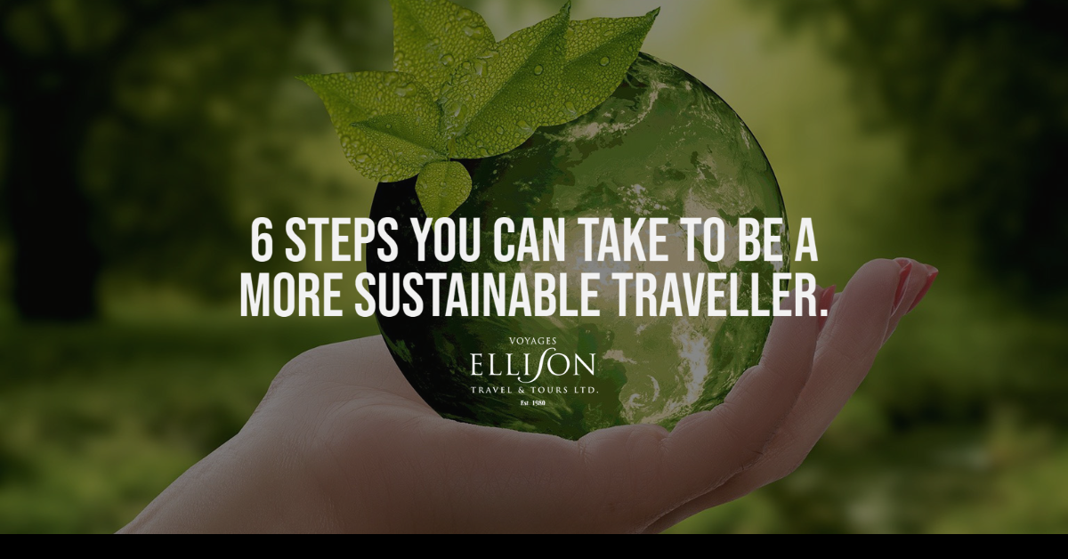 6 steps you can take to be a more sustainable traveller