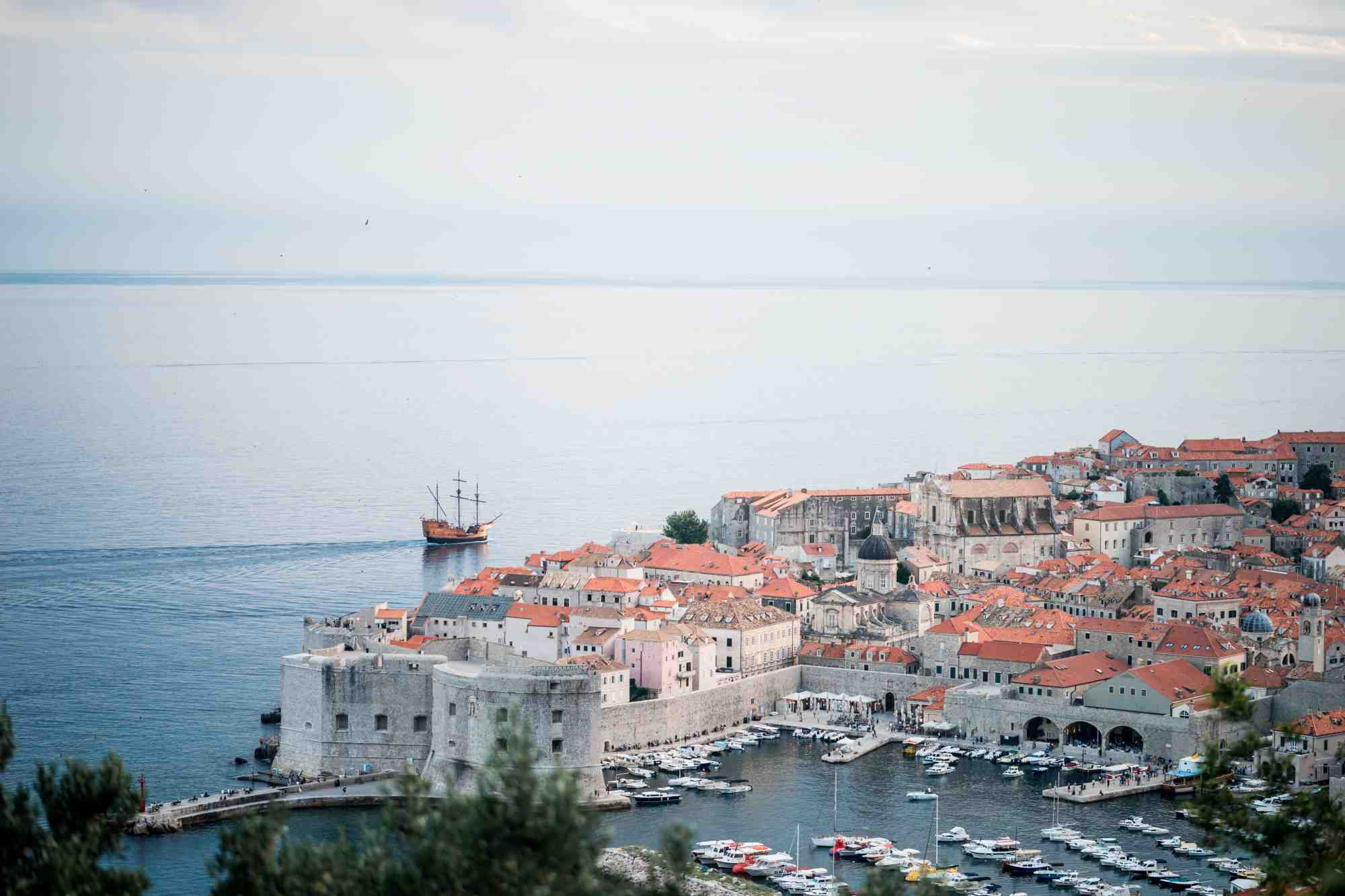 jonathan chng unsplash old town dubrovnik croatia